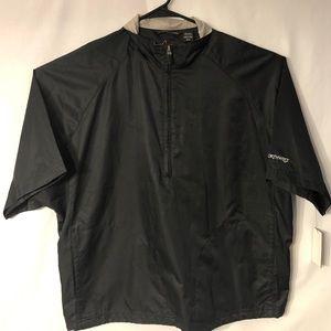Greg Norman Golf Medium NW LOGO Jacket Black NWT